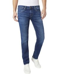 Pepe Jeans - Slim Fit Jeans - Lyst