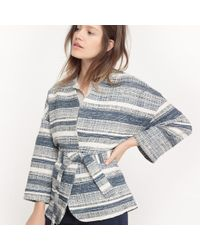 La Redoute - Jacquard Printed Kimono Jacket - Lyst