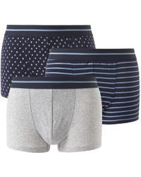 La Redoute - Pack Of 3 Boxer Shorts - Lyst