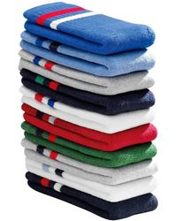 La Redoute - Pack Of 10 Pairs Of Tennis Socks With Reinforced Toes - Lyst