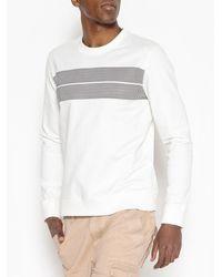 La Redoute - Printed Crew Neck Sweatshirt - Lyst