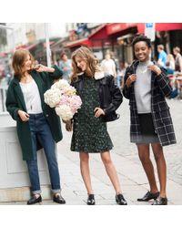 La Redoute - Knitted Wool Blend Coat - Lyst
