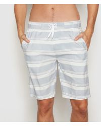 La Redoute - Striped Boardshorts - Lyst