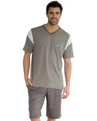 Athena - Short-sleeved Short Pyjamas - Lyst