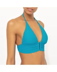 La Redoute - Jewelled Bikini Top - Lyst