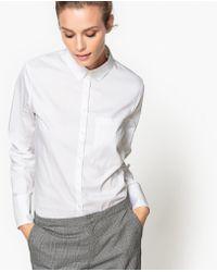 LA REDOUTE | Cotton Mix Shirt | Lyst