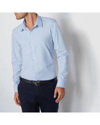La Redoute - Plain Slim Fit Shirt - Lyst
