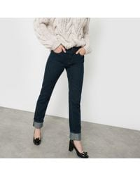 "La Redoute - Straight Speckled Jeans, Length 32"" - Lyst"