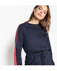 La Redoute - Sporty Shift Dress With Drawstring Waist - Lyst