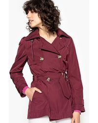 La Redoute - Hooded Trench Coat - Lyst