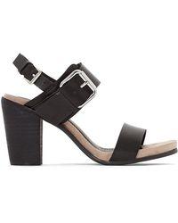 CafeNoir - Lb912 Leather Sandals - Lyst