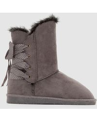 La Redoute - Fur-lined Boots, Sizes 26-39 - Lyst