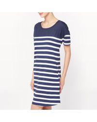 La Redoute - Striped Nightshirt - Lyst