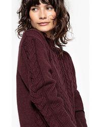 La Redoute - High Neck Fine Gauge Knit Jumper/sweater - Lyst