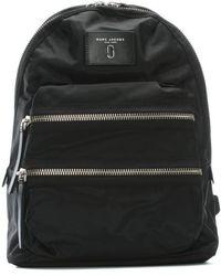 Marc Jacobs - Biker Black Nylon Backpack Ii - Lyst