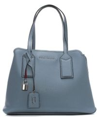 Marc Jacobs | The Editor Light Blue Leather Tote Bag | Lyst