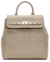 Michael Kors - Addison Truffle Pebbled Leather Backpack - Lyst