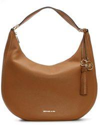 Michael Kors - Lydia Large Acorn Tumbled Leather Hobo Bag - Lyst
