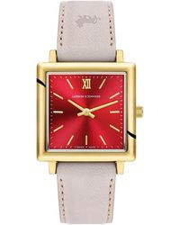 Larsson & Jennings - Norse Solaris Champagne Leather 34mm - Lyst