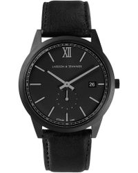 Larsson & Jennings - Saxon Watch Black Matte Classic 39mm - Lyst