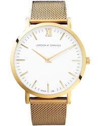 Larsson & Jennings - Unisex Lugano Bracelet Strap Watch - Lyst