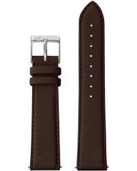 Larsson & Jennings - 20mm Chocolate/silver - Lyst