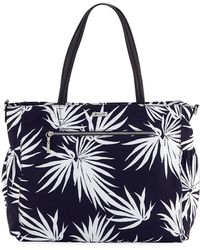 MILLY - Large Palm-print Diaper Tote Bag - Lyst