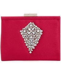 Badgley Mischka | Candid Embellished Clutch Bag | Lyst