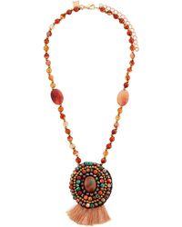 Panacea - Multi-stone Pendant Necklace - Lyst