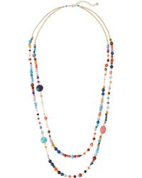 Nakamol - Two-strand Stone & Bead Necklace - Lyst