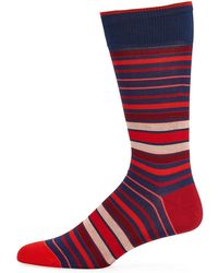 Bugatchi - Men's Striped Socks - Lyst