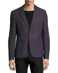 1 Like No Other - Multicolor Tweed Two-button Blazer - Lyst