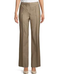 Lafayette 148 New York | Mid-rise Menswear-style Pants | Lyst
