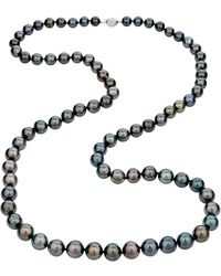 Belpearl - 14k White Gold Tahitian Pearl Necklace 36l - Lyst