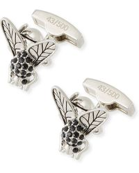 Bugatchi - Fly Shaped Cuff Links - Lyst