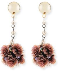 Lulu Frost Rumba Sequined Statement Earrings - Multicolour