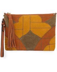 Sam Edelman - Kelly Patchwork Colorblock Crossbody Bag - Lyst