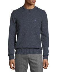 Original Penguin - Speckled-cotton Crewneck Sweater - Lyst