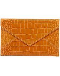 Graphic Image - Medium Crocodile-embossed Leather Case - Lyst