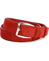 Stefano Ricci - Calf Leather Belt Red - Lyst