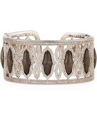 Jude Frances - Soho Genova Wide Cuff Bracelet - Lyst