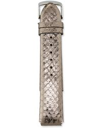 Philip Stein - 20mm Snakeskin Watch Strap - Lyst