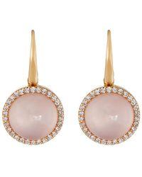Roberto Coin | 18k Rose Gold Pink Quartz | Lyst