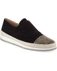 Neiman Marcus - Quara Studded Espadrille Sneakers - Lyst