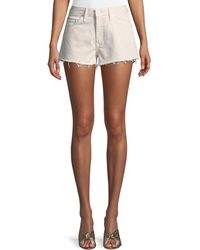 Lovers + Friends - Jack High-rise Cut-off Shorts - Lyst
