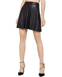 BCBGeneration   Faux-leather Mini Skirt   Lyst