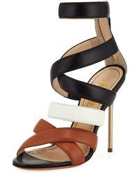 Jerome C. Rousseau - Floyd Dressy Colorblock Sandal - Lyst