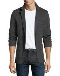 Civil Society - Men's Knit Two-button Blazer - Lyst