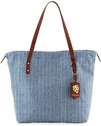 Tommy Bahama - Crete Canvas Tote Bucket Bag - Lyst
