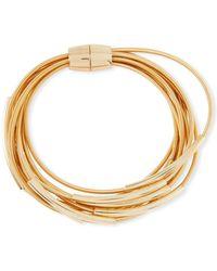 Panacea - Multi-row Coil Bracelet - Lyst